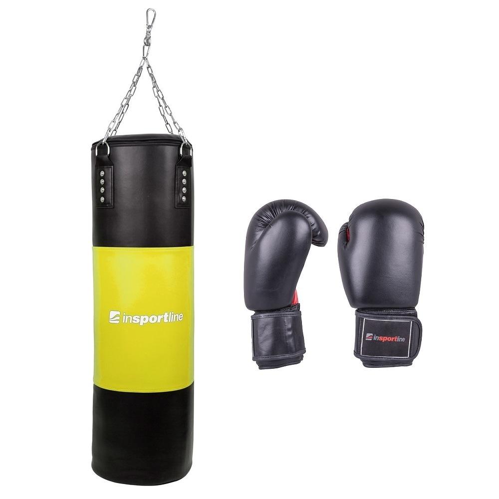 Tölthető boxzsák 50-100kg boxkesztyűvel inSPORTline