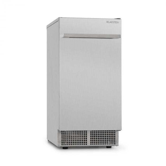 """Klarstein Icetender jégkészítő gép, jég formája: """"nuggets"""", 30 kg/24 óra, rozsdamentes acél, ezüst"""