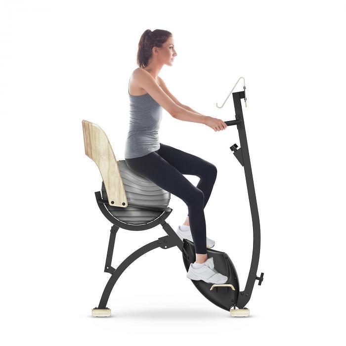 Klarfit Roomik Cycle, szobakerékpár, 8 kg-os lendkerék, tablet tartó, fitlabda