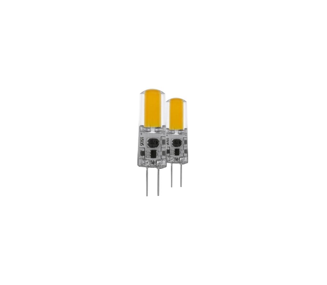 Eglo 2x Készlet LED Szabályozható Izzó G4/1,2W - Eglo 11551