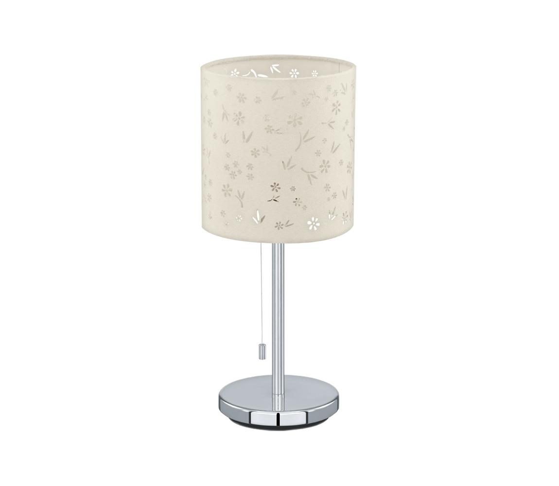 Eglo Eglo 91395 - Asztali lámpa CHICCO 1 1xE27/60W/230V