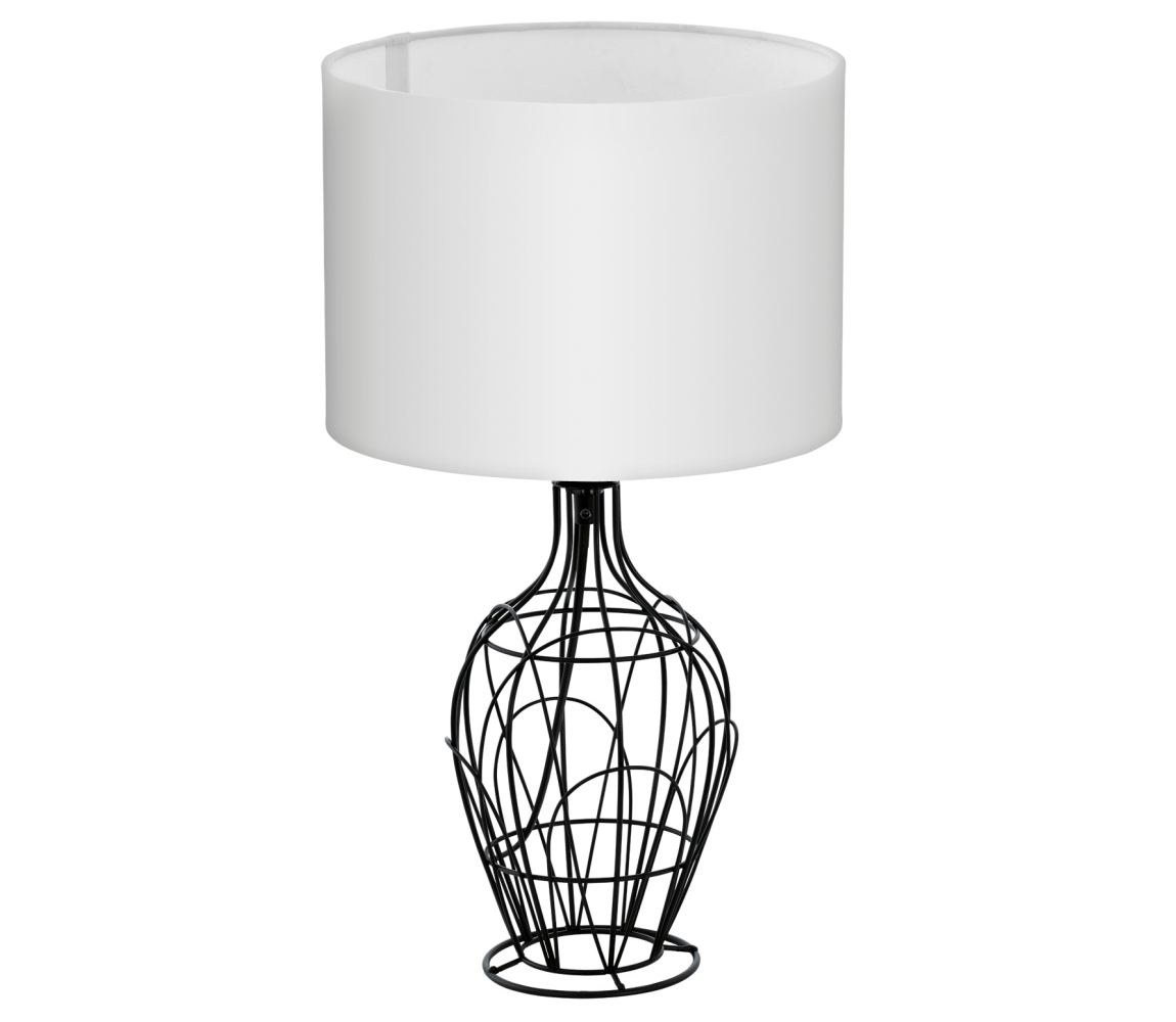 Eglo Eglo 94607 - Asztali lámpa FAGONA 1xE27/60W/230V