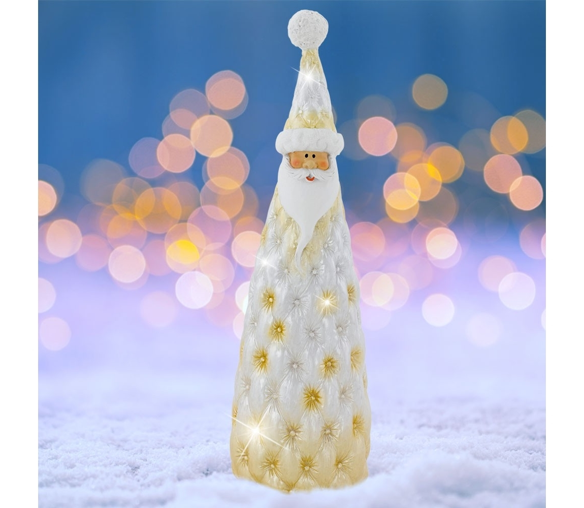 Eglo Karácsonyi dekoráció SANTA 10,5 cm sárga