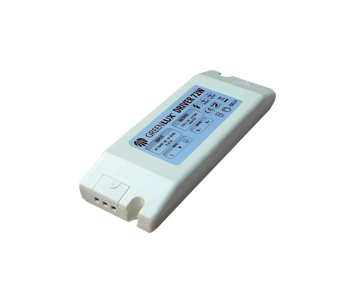Greenlux Greenlux - LED Elektromos transzformátor 36W/230V/12V DC
