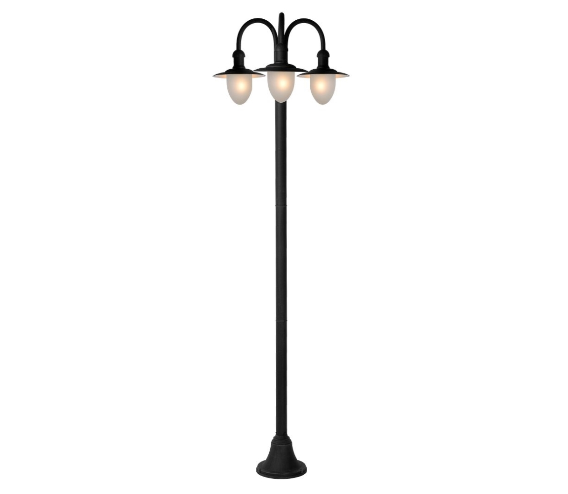 Lucide Lucide 11873/03/30 - Kültéri lámpa ARUBA 3xE27/24W/230V fekete