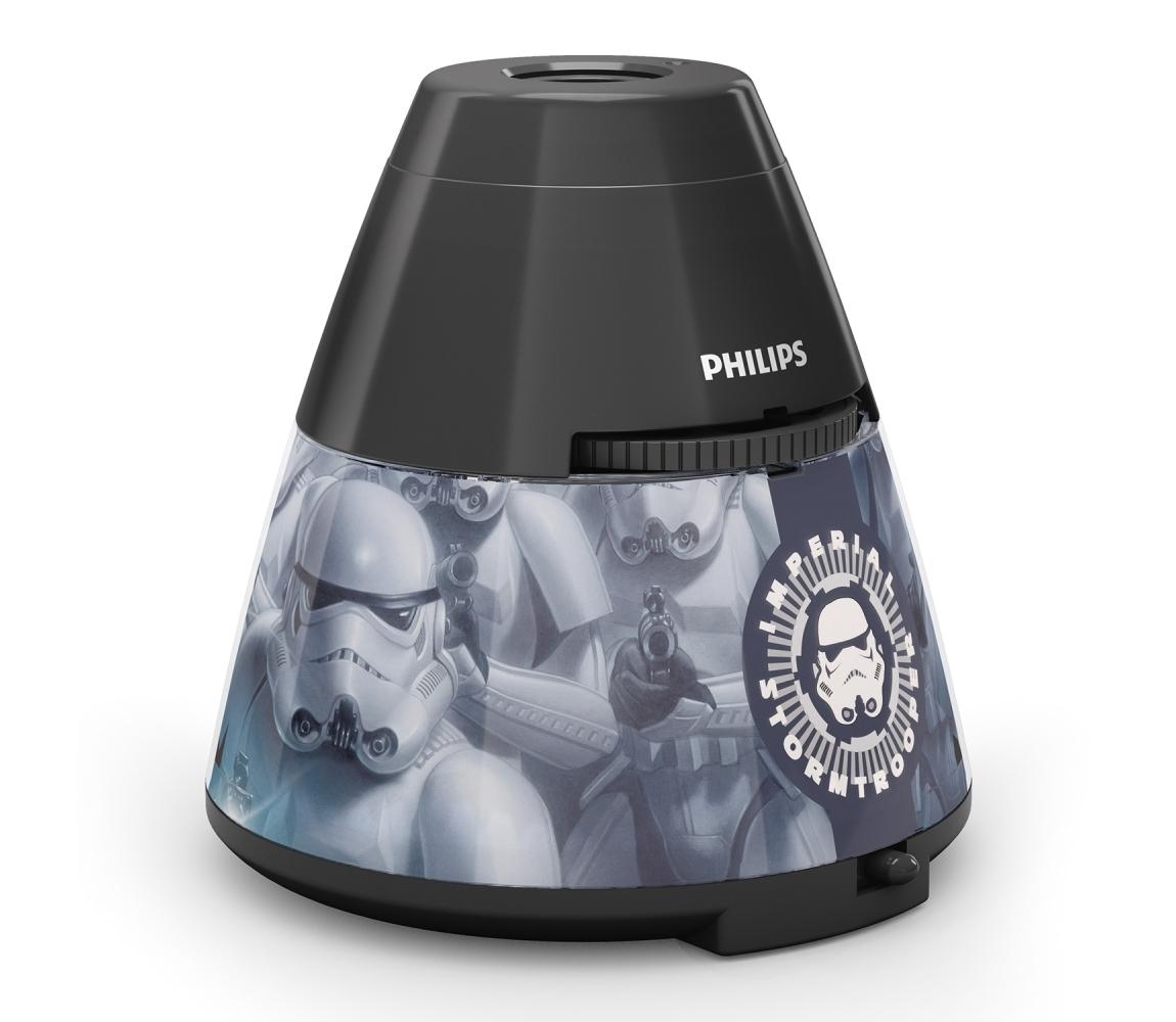 Philips Philips 71767/99/16 - Gyereklámpa DISNEY STAR WARS YODA LED/0,3W