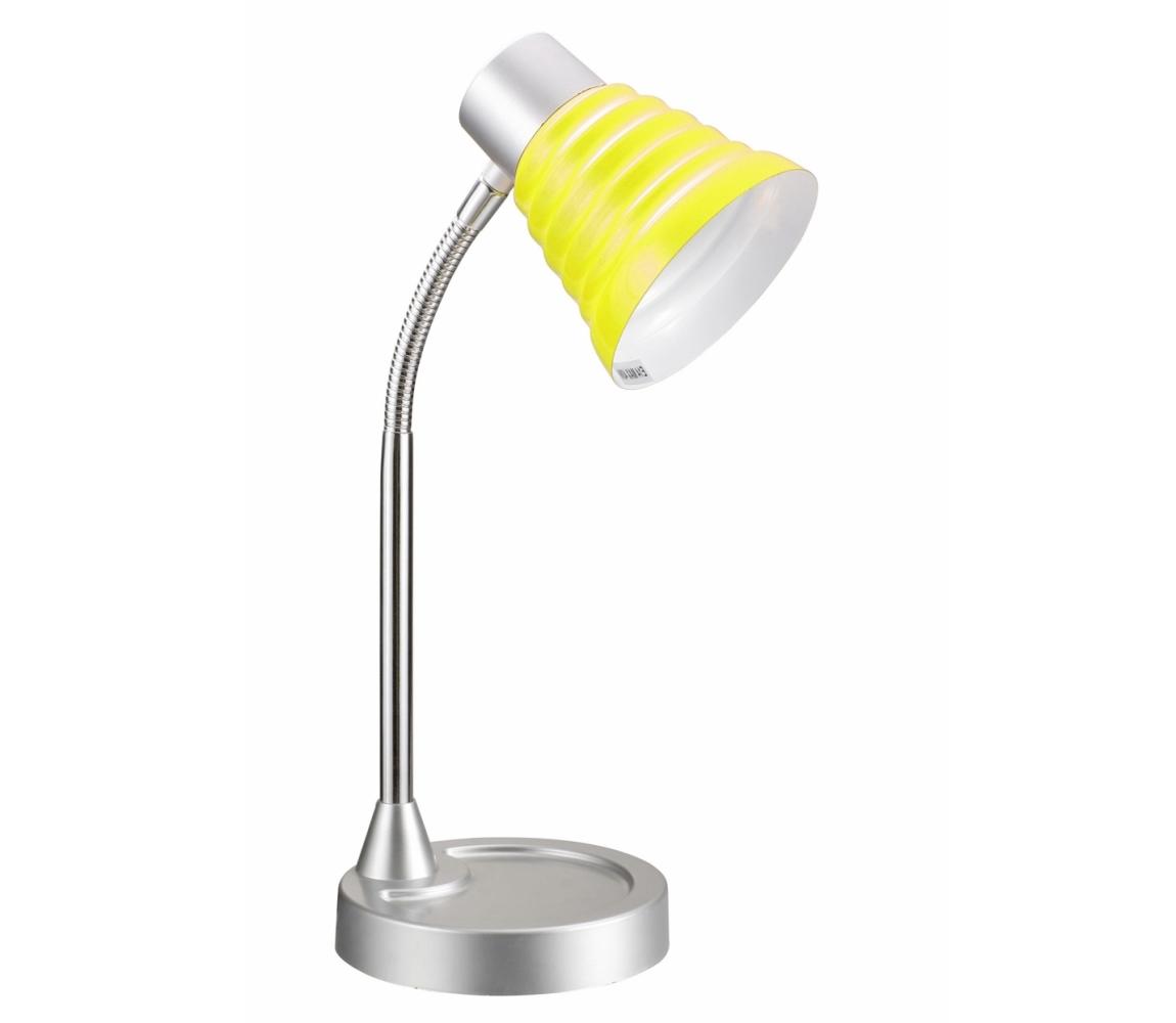 TOP LIGHT Top Light - Asztali lámpa SILVIA 1xE14/40W/230V borostyán